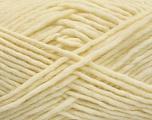 Fiber Content 100% Wool, Brand Ice Yarns, Cream, Yarn Thickness 5 Bulky  Chunky, Craft, Rug, fnt2-54432