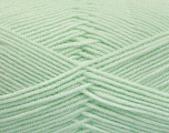 Fiber Content 50% Acrylic, 50% Bamboo, Mint Green, Brand ICE, Yarn Thickness 2 Fine  Sport, Baby, fnt2-54434