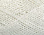 Fiber Content 80% Acrylic, 20% Polyamide, White, Brand Ice Yarns, fnt2-54436