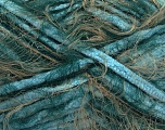 Fiber Content 70% Micro Fiber, 30% Polyamide, Turquoise, Brand Ice Yarns, Green, Camel, Yarn Thickness 5 Bulky  Chunky, Craft, Rug, fnt2-54447
