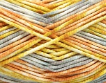 Fiberinnhold 100% Exoline, White, Olive Light Green, Light Orange, Brand Ice Yarns, Grey, fnt2-54486