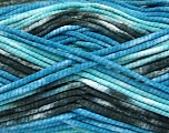 Fiberinnhold 100% Exoline, White, Turquoise, Brand Ice Yarns, Blue, Black, fnt2-54488