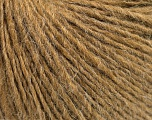 Fiberinnhold 50% Merino Ull, 25% Alpakka, 25% Akryl, Light Brown, Brand Ice Yarns, fnt2-54498