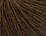 Fiber Content 50% Merino Wool, 25% Alpaca, 25% Acrylic, Brand Ice Yarns, Brown Melange, Yarn Thickness 3 Light  DK, Light, Worsted, fnt2-54500