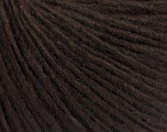 Fiber Content 50% Merino Wool, 25% Alpaca, 25% Acrylic, Brand Ice Yarns, Dark Brown, Yarn Thickness 3 Light  DK, Light, Worsted, fnt2-54501
