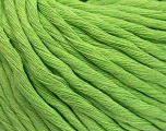 Fiber Content 100% Cotton, Light Green, Brand ICE, Yarn Thickness 5 Bulky  Chunky, Craft, Rug, fnt2-54506