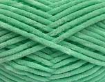 Composição 100% Microfibra, Mint Green, Brand Ice Yarns, fnt2-54509