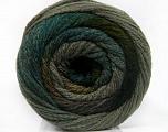 Fiber Content 90% Acrylic, 10% Polyamide, Brand Ice Yarns, Grey Shades, Green Shades, Yarn Thickness 4 Medium  Worsted, Afghan, Aran, fnt2-54523