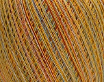 Fiber indhold 100% Viskose, Yellow, Red, Pink, Brand Ice Yarns, Blue, fnt2-54536