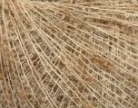 Fiber Content 35% Mohair, 25% Polyamide, 25% Acrylic, 15% Wool, Brand Ice Yarns, Cream melange, fnt2-54538