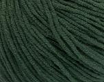 Fiber Content 50% Cotton, 50% Acrylic, Brand Ice Yarns, Dark Green, Yarn Thickness 3 Light  DK, Light, Worsted, fnt2-54667