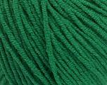 Fiber Content 50% Cotton, 50% Acrylic, Brand Ice Yarns, Green, Yarn Thickness 3 Light  DK, Light, Worsted, fnt2-54668