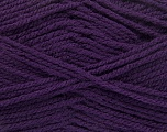 Worsted  Fiber Content 100% Acrylic, Purple, Brand Ice Yarns, Yarn Thickness 4 Medium  Worsted, Afghan, Aran, fnt2-54670