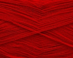 Very thin yarn. It is spinned as two threads. So you will knit as two threads. Yardage information is for only one strand. Fiber Content 100% Acrylic, Brand Ice Yarns, Dark Red, Yarn Thickness 1 SuperFine  Sock, Fingering, Baby, fnt2-54705