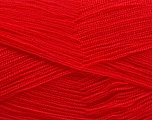 Very thin yarn. It is spinned as two threads. So you will knit as two threads. Yardage information is for only one strand. Fiber Content 100% Acrylic, Brand Ice Yarns, Dark Fuchsia, Yarn Thickness 1 SuperFine  Sock, Fingering, Baby, fnt2-54709