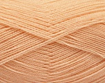Very thin yarn. It is spinned as two threads. So you will knit as two threads. Yardage information is for only one strand. Fiber Content 100% Acrylic, Powder, Brand Ice Yarns, Yarn Thickness 1 SuperFine  Sock, Fingering, Baby, fnt2-54715