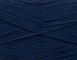 Very thin yarn. It is spinned as two threads. So you will knit as two threads. Yardage information is for only one strand. Fiber Content 100% Acrylic, Brand Ice Yarns, Dark Navy, Yarn Thickness 1 SuperFine  Sock, Fingering, Baby, fnt2-54716