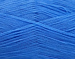 Very thin yarn. It is spinned as two threads. So you will knit as two threads. Yardage information is for only one strand. Fiber Content 100% Acrylic, Indigo Blue, Brand Ice Yarns, Yarn Thickness 1 SuperFine  Sock, Fingering, Baby, fnt2-54721