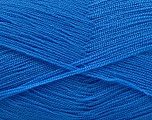 Very thin yarn. It is spinned as two threads. So you will knit as two threads. Yardage information is for only one strand. Fiber Content 100% Acrylic, Jeans Blue, Brand ICE, Yarn Thickness 1 SuperFine  Sock, Fingering, Baby, fnt2-54722