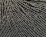 Global Organic Textile Standard (GOTS) Certified Product. CUC-TR-017 PRJ 805332/918191 Fiber Content 100% Organic Cotton, Brand Ice Yarns, Grey, Yarn Thickness 3 Light  DK, Light, Worsted, fnt2-54726