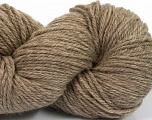 Yarn is hand sheered and all natural undyed wool. Fiberinnhold 100% Natural Undyed Wool, Light Camel, Brand Ice Yarns, fnt2-54763