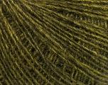 Fasergehalt 50% Wolle, 50% Acryl, Brand Ice Yarns, Green Melange, fnt2-54835