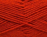 Worsted  Fiber Content 100% Acrylic, Orange, Brand Ice Yarns, Yarn Thickness 4 Medium  Worsted, Afghan, Aran, fnt2-54877