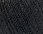 Fiber indhold 35% Akryl, 28% Merino Uld, 19% Alpaca Superfine, 18% Polyamid, Brand Ice Yarns, Black, fnt2-54881