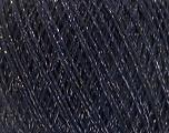Fiber Content 8% Elastan, 57% Viscose, 24% Polyamide, 11% Metallic Lurex, Silver, Navy, Brand Ice Yarns, fnt2-54891