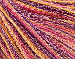 Fiberinnhold 100% Bomull, Yellow, White, Purple, Pink, Brand Ice Yarns, fnt2-54899