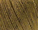 Fiber Content 68% Viscose, 32% Metallic Lurex, Khaki, Brand Ice Yarns, Yarn Thickness 3 Light  DK, Light, Worsted, fnt2-54901