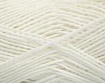 Fiber Content 100% Cotton, White, Brand Ice Yarns, Yarn Thickness 2 Fine  Sport, Baby, fnt2-54923