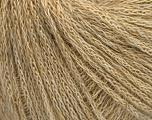 Kuitupitoisuus 40% Polymidi, 40% Merinovilla, 20% Pellava, Brand Ice Yarns, Cream melange, fnt2-54940
