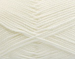 Fiber Content 100% Acrylic, Off White, Brand Ice Yarns, Yarn Thickness 2 Fine  Sport, Baby, fnt2-54951