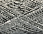 Fiber Content 82% Viscose, 18% Polyester, Brand Ice Yarns, Grey Melange, Yarn Thickness 4 Medium  Worsted, Afghan, Aran, fnt2-54955
