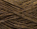 Fiber Content 82% Viscose, 18% Polyester, Brand Ice Yarns, Gold, Dark Brown, Yarn Thickness 4 Medium  Worsted, Afghan, Aran, fnt2-54959