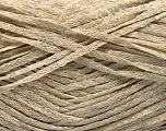 Fiber Content 82% Viscose, 18% Polyester, Brand Ice Yarns, Beige Melange, Yarn Thickness 4 Medium  Worsted, Afghan, Aran, fnt2-54968