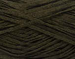 Fiber Content 82% Viscose, 18% Polyester, Brand Ice Yarns, Dark Khaki, Yarn Thickness 4 Medium  Worsted, Afghan, Aran, fnt2-54970