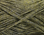 Fiber Content 82% Viscose, 18% Polyester, Khaki, Brand Ice Yarns, Green, Yarn Thickness 4 Medium  Worsted, Afghan, Aran, fnt2-54972