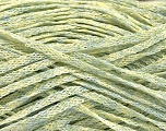 Fiber Content 82% Viscose, 18% Polyester, Mint Green, Brand Ice Yarns, Gold, Yarn Thickness 4 Medium  Worsted, Afghan, Aran, fnt2-54975