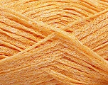 Fiber Content 82% Viscose, 18% Polyester, Light Orange, Brand Ice Yarns, Yarn Thickness 4 Medium  Worsted, Afghan, Aran, fnt2-54977