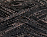 Fiber Content 82% Viscose, 18% Polyester, Brand Ice Yarns, Camel, Black, Yarn Thickness 5 Bulky  Chunky, Craft, Rug, fnt2-55002