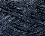 Fiber Content 82% Viscose, 18% Polyester, Brand Ice Yarns, Dark Jeans Blue, Yarn Thickness 5 Bulky  Chunky, Craft, Rug, fnt2-55020