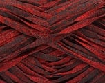 Fiber Content 82% Viscose, 18% Polyester, Red, Brand Ice Yarns, Black, Yarn Thickness 5 Bulky  Chunky, Craft, Rug, fnt2-55023