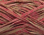 Fiber Content 82% Viscose, 18% Polyester, Pink, Brand Ice Yarns, Camel, Yarn Thickness 5 Bulky  Chunky, Craft, Rug, fnt2-55031
