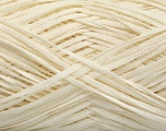 Fiber Content 90% Viscose, 10% Polyamide, Brand Ice Yarns, Cream, fnt2-55040