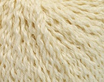Fiber Content 32% Wool, 23% Cotton, 21% Polyamide, 19% Alpaca, Brand Ice Yarns, Cream, fnt2-55047