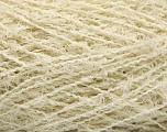 Fiberinnhold 80% Bomull, 20% polyamid, Brand Ice Yarns, Ecru, fnt2-55087