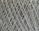 Fasergehalt 56% Viskose, 44% Polyamid, Silver, Brand Ice Yarns, fnt2-55119