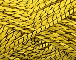 Fiber Content 100% Acrylic, Yellow, Brand Ice Yarns, Black, fnt2-55121